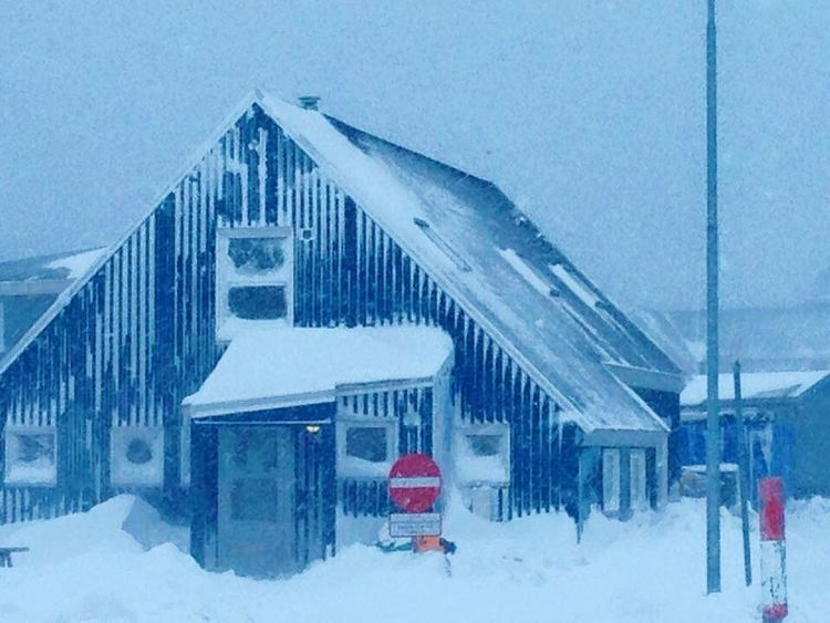 House Snow ❄ Snowing Snow Covered Wonderfuld Greenland Nature Is Art Check This Out Taking Photos