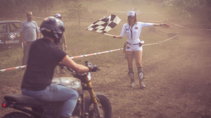 Bicycle Childhood Day Dusty Track Finish Line  Full Length Happiness Leisure Activity Lifestyles Moto Motor Motorcycle Motorcycles Nasmgraphia Outdoors Real People Sunlight Togetherness
