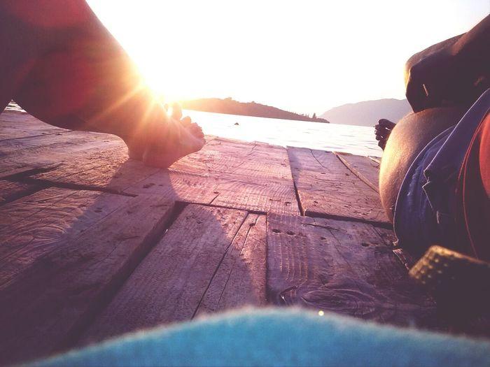 Sunset Relaxing