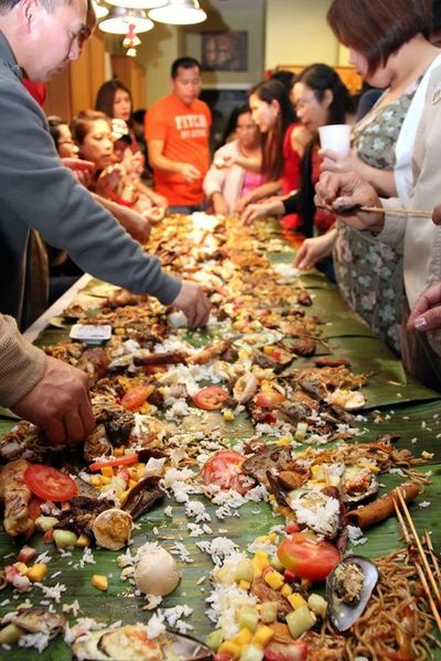 Mealtime Kamayan BoodleFight Family And Friends ShareTheMeal Dinner Dinner Time Meal Dinner With Friends Dinnertime Share The Meal Share TheMeal