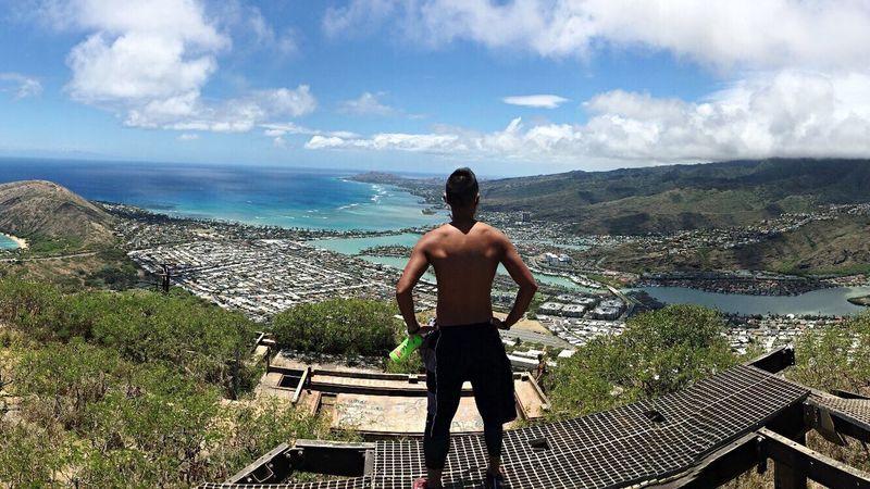 """Top of the World"" Koko Head  Koko Head Hike Koko Head Hike Stairs Mountain Koko Head Stairs Oahu Hawaii"