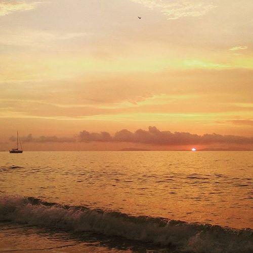 Sunset Sea Sky Whave Messina