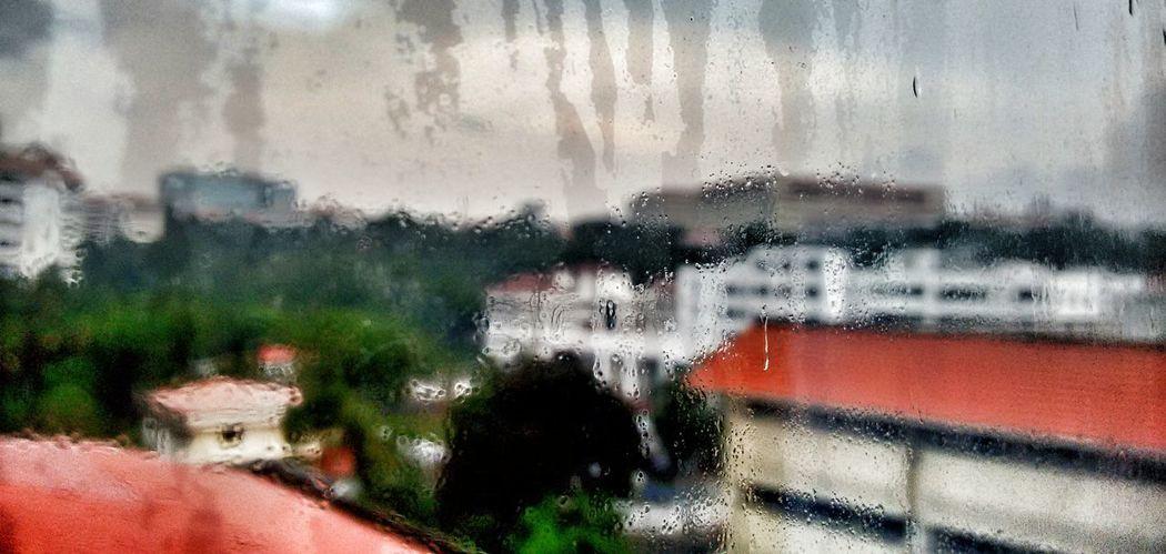 Rain Through The Window Technopark Kerala Phone Photography Photography Love