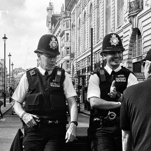 Men In Uniform Police London Piccadily Circus England Travelphotography Streetphotography