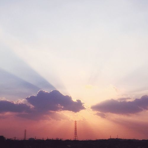 Sky Sunset Day Japan いつかの夕陽 夕陽 いつかの空 Sunset Lovers 夕焼け 夕日 Sunset #sun #clouds #skylovers #sky #nature #beautifulinnature #naturalbeauty #photography #landscape Sunset_collection Set 日本