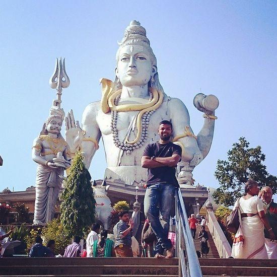 Murudeshwar Karnataka Instapic Shiva Instapicmix Southindia Roadtripindia Incredibleindia India OM LordShiva Mahadev