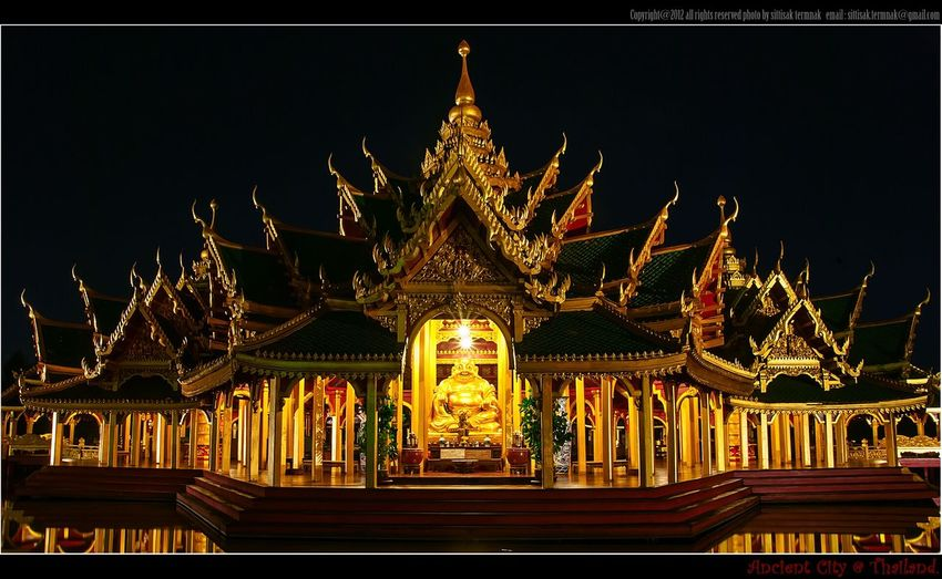 Ancient City, Thailand. Thailand_allshots Landscape_Collection Night Lights Traveling