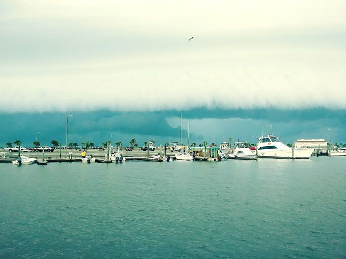 Storm Beautiful Nature Stormy Weather Wave Water Nautical Vessel Harbor Sea Flying Commercial Dock