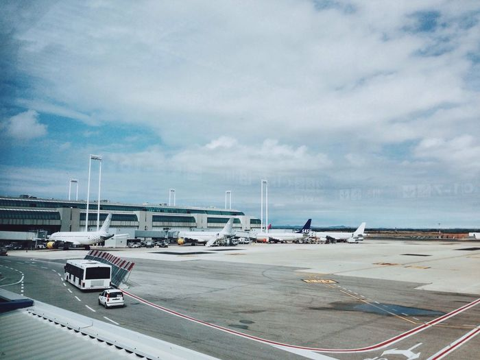 On my way to Berlin for The 2014 EyeEm Festival & Awards - VSCO Vscocam Airport