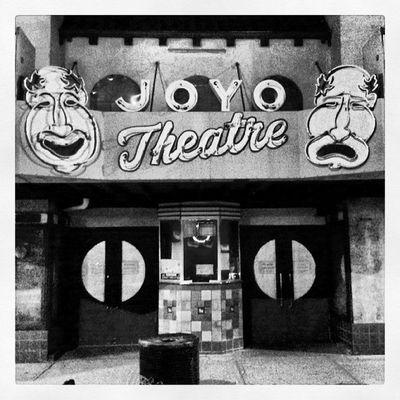 Joyo B &W Bnw_captures Bnw_life_invite Bnwstreetview Bnwart bnw_photographs bnw_photos bnw_life bnwphotooftheday bnw_demand bnwlovers bnw_stingray cinematreasures cinema movies theaters tragedy comedy