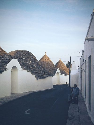 """Sul far della sera"". End Of Summer End Of The Day Alberobello Trulli Point And Shoot/ Eyeemfilter F1 / Puglia Italy / Typical Houses / Village Life"