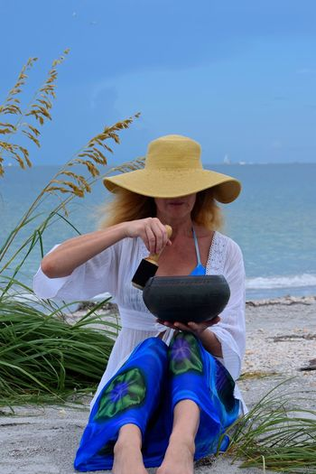 My Best Photo 2016 My Favorite Photo The Portraitist - 2016 EyeEm Awards People Of The Oceans - harmonizing the universal ohm of the singing bowl with the wind. Sand Key Beach Florida Fine Art Photography Women Around The World The Portraitist - 2017 EyeEm Awards BYOPaper! Place Of Heart The Week On EyeEm