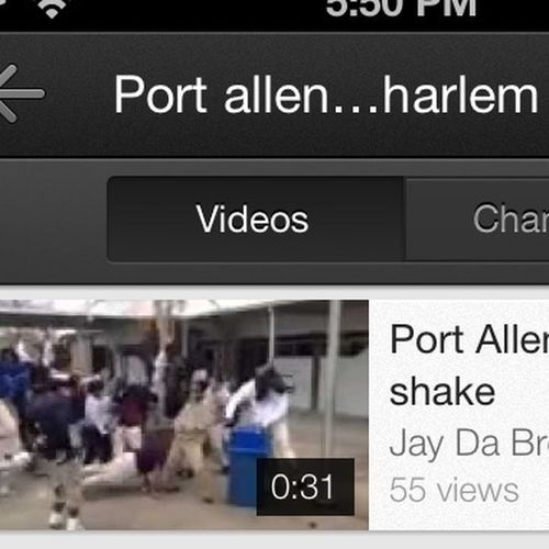 Go check out our Harlem Shake Video dat bit funny