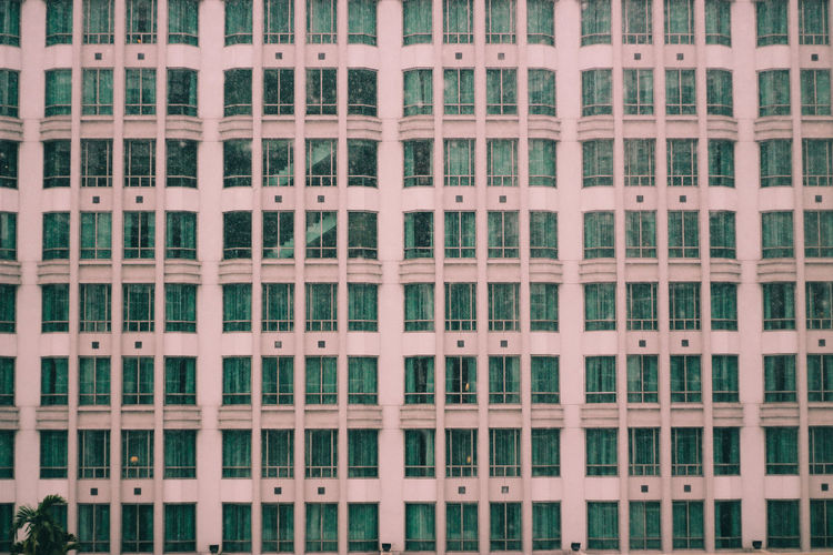 Architectural Feature Architecture Backgrounds Building Built Structure City City Life Day Full Frame In A Row Modern No People Outdoors Repetition Side By Side The Architect - 2016 EyeEm Awards