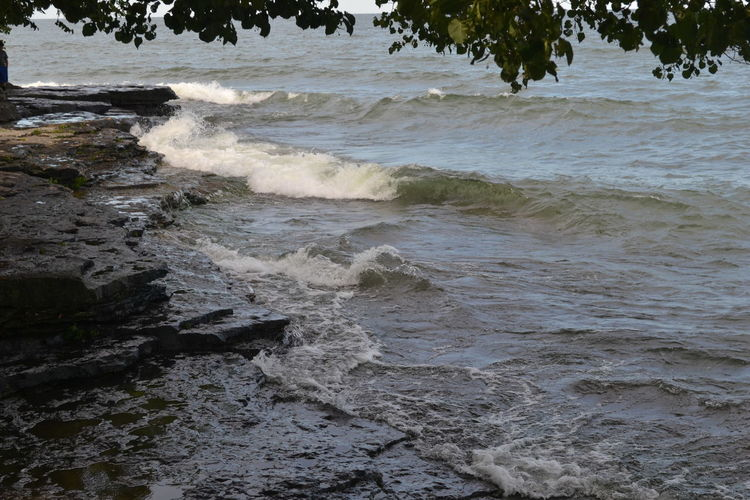 Marblehead Marblehead Lighthouse Marblehead, OH Lighthouse Beauty In Nature Day Motion Nature No People Ohio Outdoors Tree Water Wave