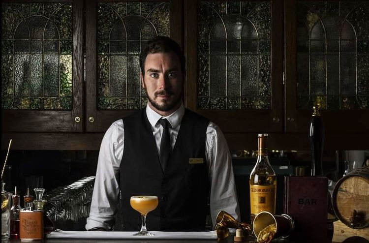 My portrait for the 2018 Glenmorangie Men of Tain competition. At the Speakeasy cocktail bar in the Hotel Diplomat in Stockholm where I work. Stockholm Hustle Competition Positive Vibes Whiskey Scotch Whisky Glenmorangie Life Glenmorangie Distillery Tain Men Of Tain Bourbon Cask Diplomat Hotel Five Stars ⭐⭐⭐⭐⭐ Hotel Beauty Aging Process Awesome Flavours Scented Happy Hour Portrait Alcohol Bartender Looking At Camera Men Winetasting Bar - Drink Establishment Drink Cocktail Bar Counter The Portraitist - 2018 EyeEm Awards