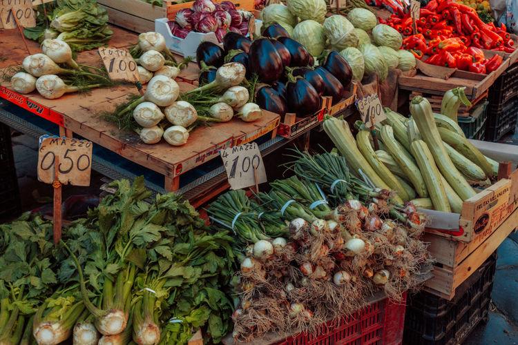 Market Sicily