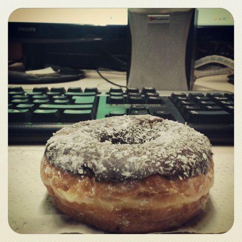 Buena manera de comenzar. Goodday Dunkin Donuts Atentochile