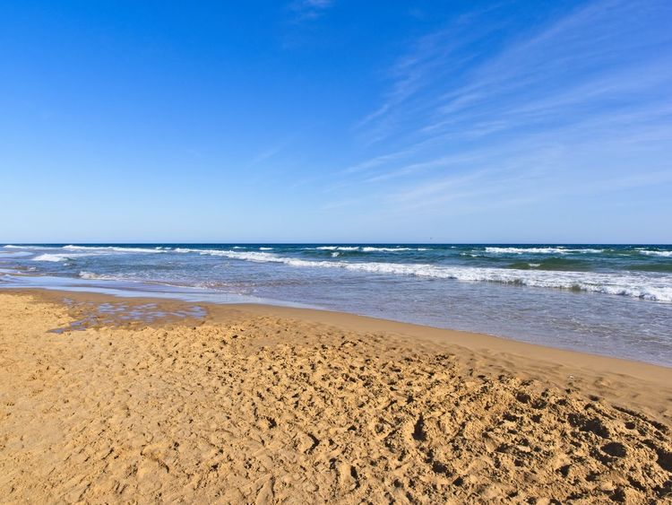 Calblanque Natural Park Costa Calida Murcia Sky And Clouds Beach Beauty In Nature Blue Calblanque Horizon Horizon Over Water Murcia Nature Natural Park Nature Nature_collection No People Outdoors Sand Scenics - Nature Sea Seascape Sky Tranquil Scene Tranquility Water Wave