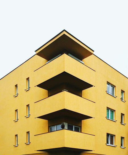 Paint The Town Yellow Architecture Verge Urban Geometry Architecture_collection The Week On EyeEm Balcony The Architect - 2018 EyeEm Awards