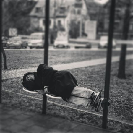 Homeless Homeless Man Streetphotography Blackandwhite