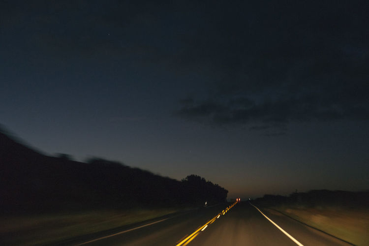Day Dividing Line Nature No People Outdoors Road Road Marking Sky Speed The Way Forward Transportation
