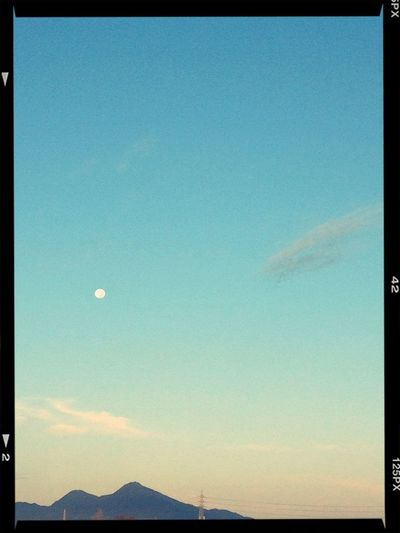 Moon Good Morning! Sky_collection そら
