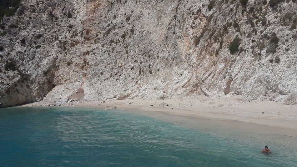 Sea Sunny Day Summer Lefkada