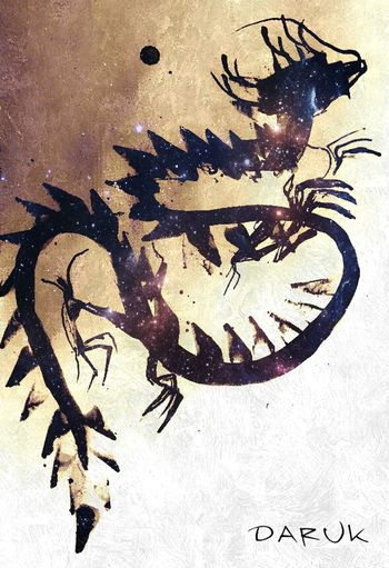 Fallen Angels Doitbetter My Artwork Drawing Dragon