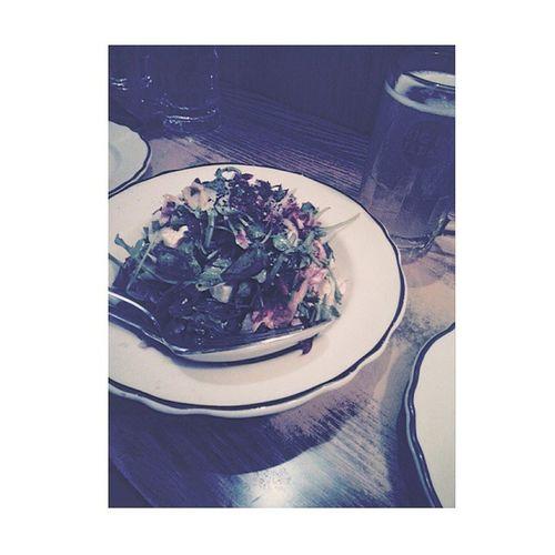 5yrs supper with bae 💑💋 fancy? Nah... Affordable = more food. Yasss. 🐖 Biginjapan Tofusalad MTL