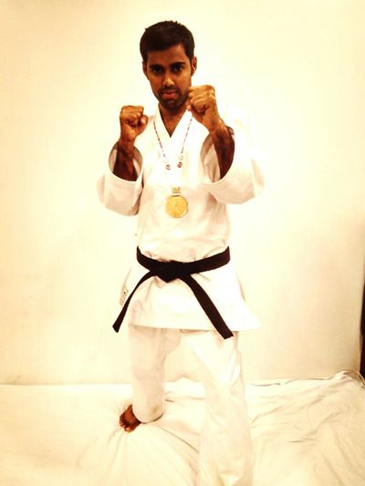 Amey with bronze medal Akshaykumarcompetition First Eyeem Photo