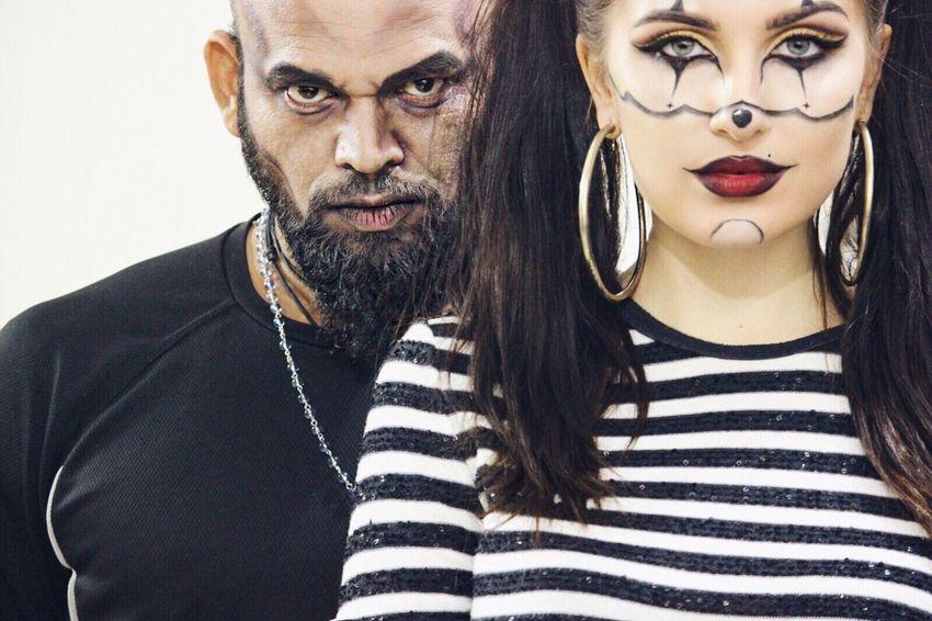 Halloween Joker Beast Makeup Crazylook Duo Partner Partnerincrime