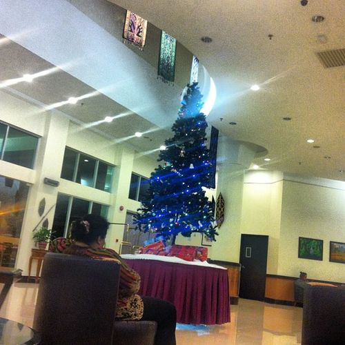 Christmas tree. Last day at lawas. Gonna miss them at kg punang. Insyallah, will going here again. ?????