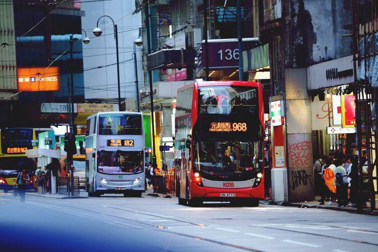 hongkong buses