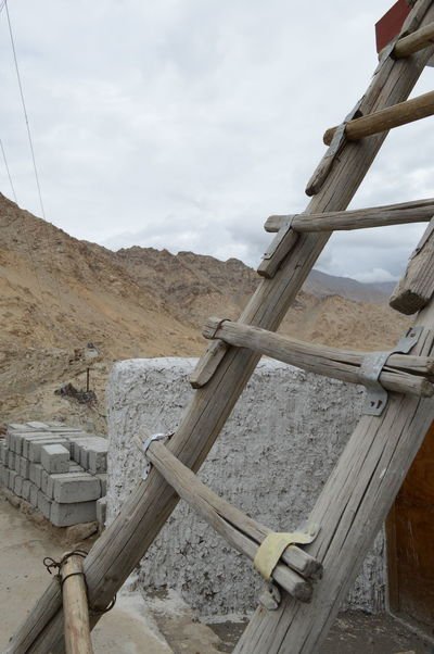 Snapshots from Leh City, August 2016. Bottomview Cloud - Sky Day Details Explore ExploreEverything Hi Himalaya India Ladder Ladder To Nowhere Leh Ladakh.. LehLadakh Lehladakhtrip Nature No People Outdoors Photography Sky Stairs Stairway To Heaven Stone Stairs Stone Stairs On The Mountain Tourism Travel