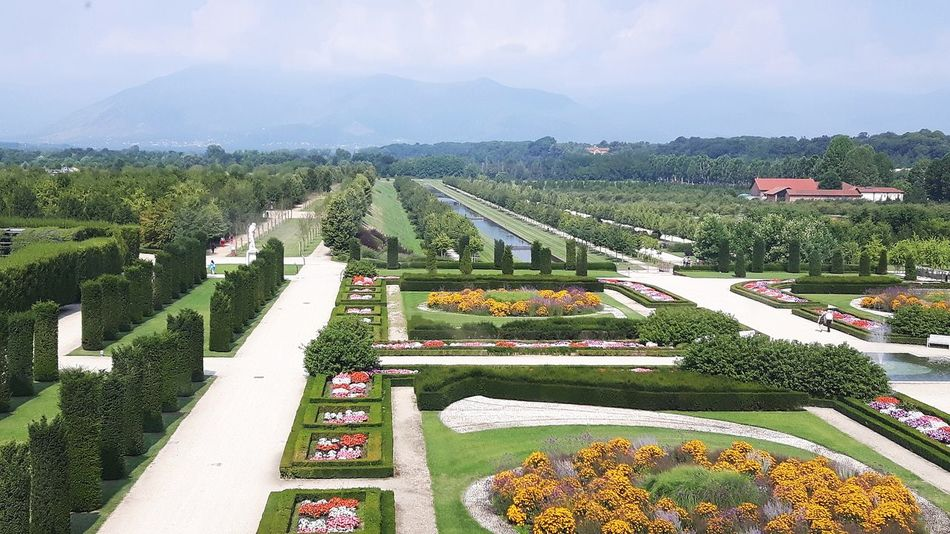 Venaria Reale Flowers,Plants & Garden View From Above