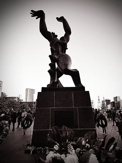 Rotterdam 14 mei 1940 Rotterdam Zadkine Remembrance Day Bombardment WWII Sculpture Memorial