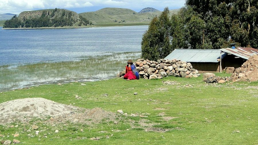 Taking Photos The Purist (no Edit, No Filter) Pomata Popular Photos People Titicaca Lake Titicaca From My Point Of View Water Water_collection Walking Around On The Road Peru Landscapes EyeEm Best Shots Eye4photography  EyeEm Gallery Landscape Lake Landscape_Collection Travel