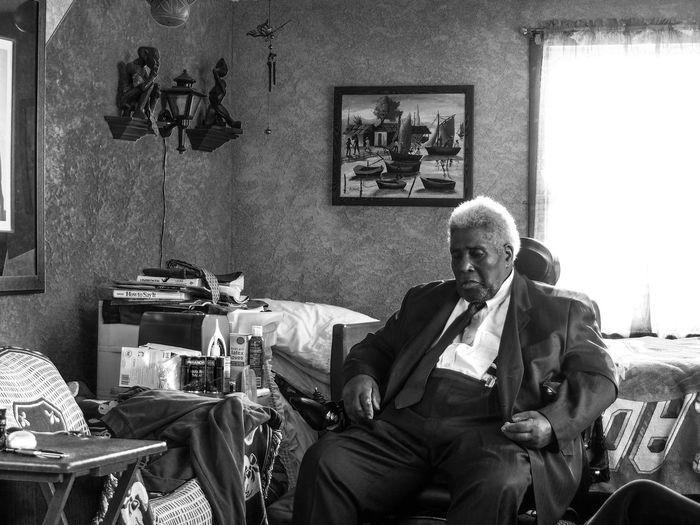 Greatgrandpa Sleeping Afterdinner Rest In Peace ❤ Portrait Blackandwhite SundayFunday Suitandtie Second Acts EyeEmNewHere