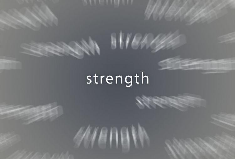 Stength Poster
