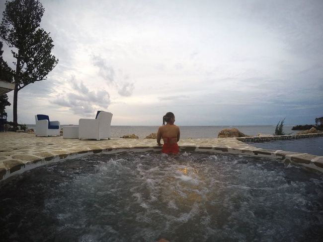 Freedom from all the stress Relaxing Jacuzzi  Balesin