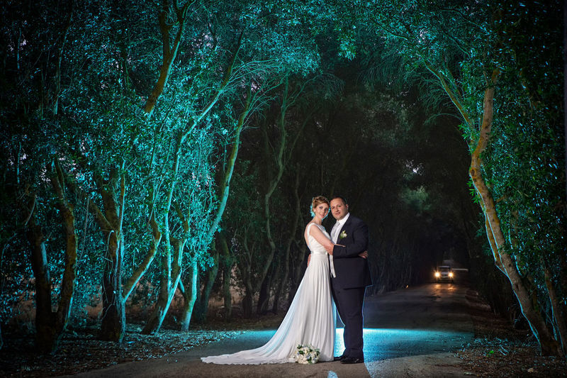 Adult Beautiful Woman Beauty Bride Couple - Relationship Forest Full Length Land Nature Newlywed One Person Outdoors Plant Positive Emotion Real People Standing Tree Wedding Wedding Dress Women WoodLand Young Adult Young Women