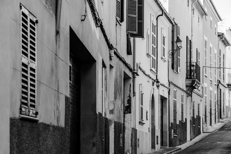 street in Sineu Mallorca Apartment Architecture Balcony Building Building Exterior Built Structure City City Life Façade Mallorca No People Repetition Residential Building Residential District Residential Structure Sineu Spanien Spanish Street