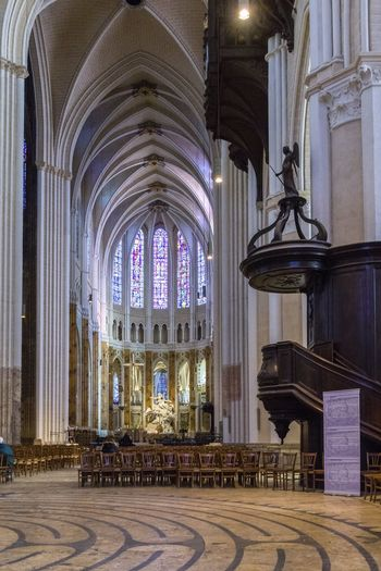 Architecture Chartres Chartres Cathedral France Gothic Gothic Architecture Arch Architectural Column Architecture Belief Ceiling Glass Gothic Church Gothic Style History Indoors  Ornate Place Of Worship Religion Spirituality Stained Glass Window The Past Travel Destinations