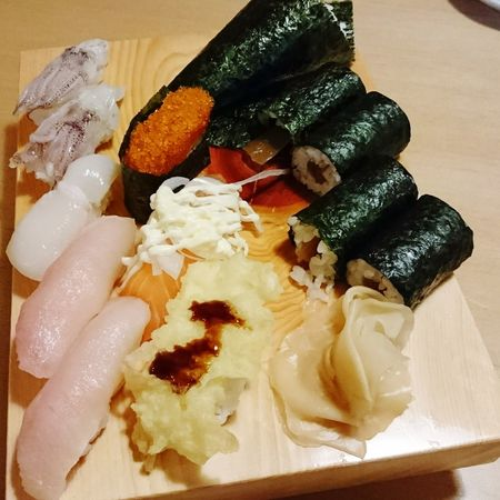 Sushi Lover Sushi Rolls や台や Sushilover Sushi! Sushi 寿司 すし 寿司🍣 Foods 食べもの Fish 山葵 Wasabi わさび Food Salmon - Seafood Freshness Seafood