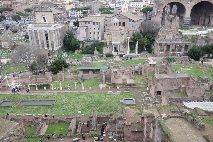 Ancient Civilization Fororomano Historic History Roma