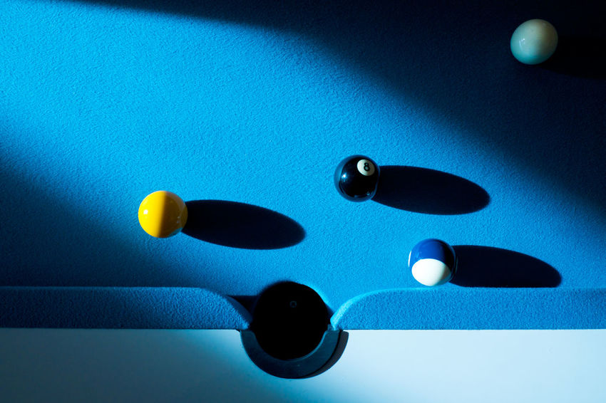 Choice ChoicesInLife StrategicPlanning Blue Close-up Day High Lights And Low Lights Indoors  No People Pool Ball Pool Balls Pool Table Pool Table Love ;) Shadow Strategic Strategy Studio Shot