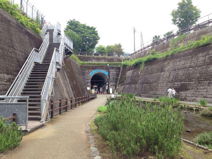 坑道を公園にしたらしい(*^^*)涼しかった♪ Tunnel Park On A Date