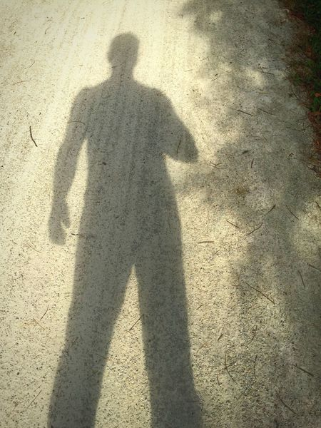 Self Portrait Around The World Shadow Different Self Portrait Rocky Glen Trail my shadow was feeling left out :) he's usually always there for me.