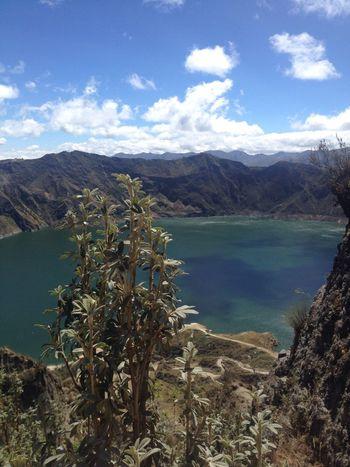 Laguna Quilotoa, Pujilí - Ecuador Adventure Beautiful Day Nature Photography First Eyeem Photo